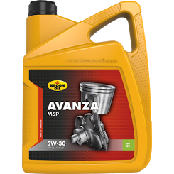 Kroon Oil Avanza MSP 5W-30 motorolie