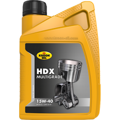 Kroon Oil HDX 15W-40 Motorolie