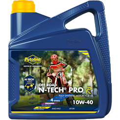 4 L can Putoline N-Tech Pro R+ Off Road 10W-40