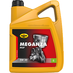 5 L can Kroon-Oil Meganza MSP 5W-30